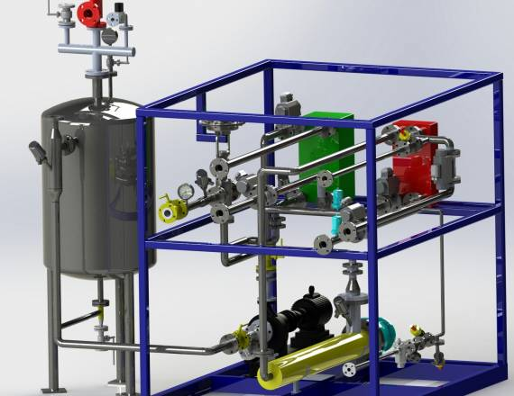 Heating cooling system | De Dietrich Process Systems India